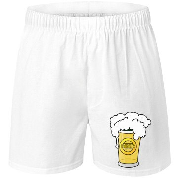 Mens Beer Shorts