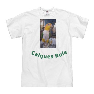 "Men's ""Caiques Rule"" T-shirt"