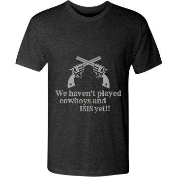 Men's Cowboys & isis