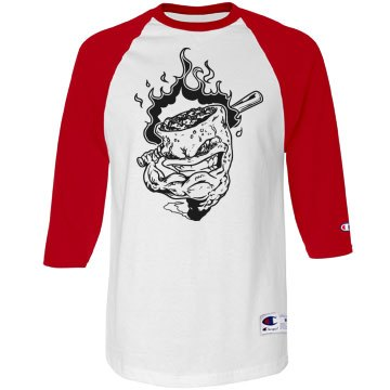 mens crazy baseball shirt
