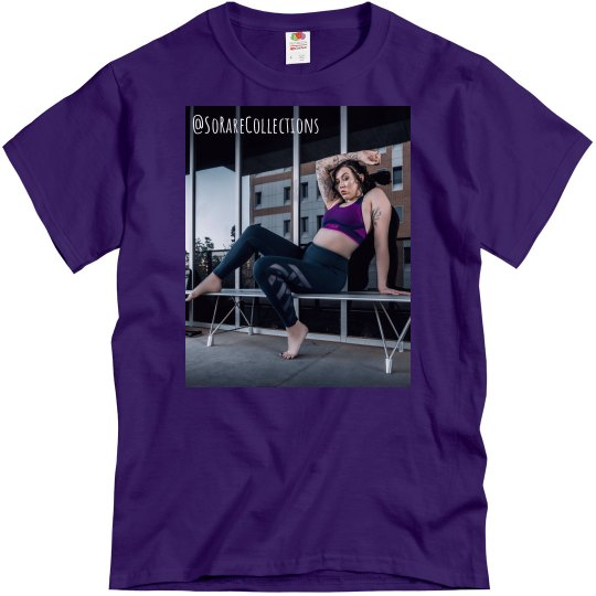"""Men's Graphic Tee """"workout"""""""