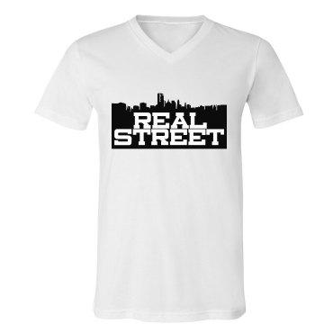 Mens Real Street V-Necks