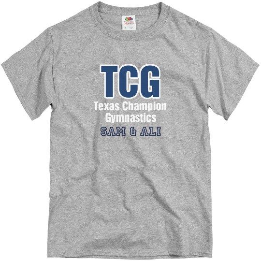 Men's Team Tee Gray