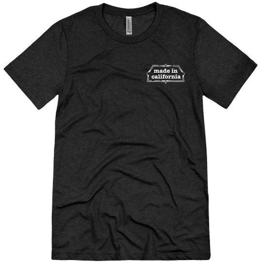 Men's triblend 84 tee - black