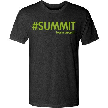 mens triblend lime summit