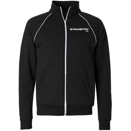 Mens/Ladies Fleece Zip Up Track Jacket