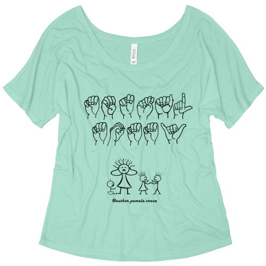 Mental Mommy ASL Slouchy T