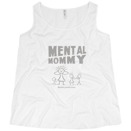 Mental Mommy Plus-Size Curvy Tank