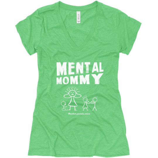 Mental Mommy Relaxed Fit V-Neck