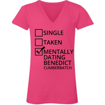Single taken mentally dating benedict cumberbatch