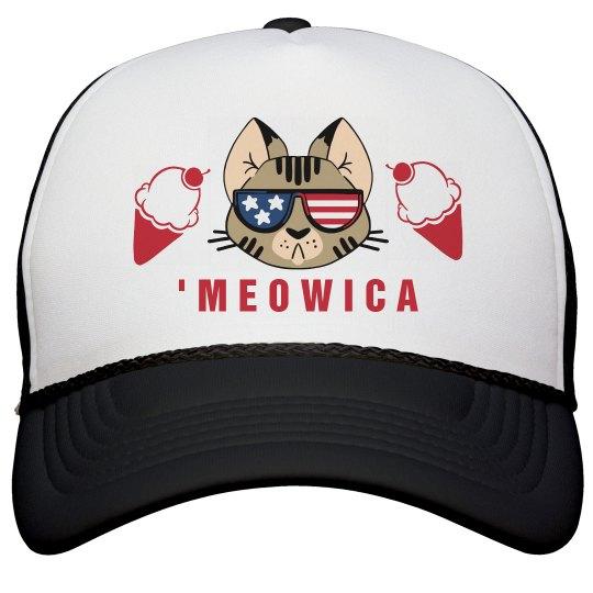 'Meowican Ice Cream Hat