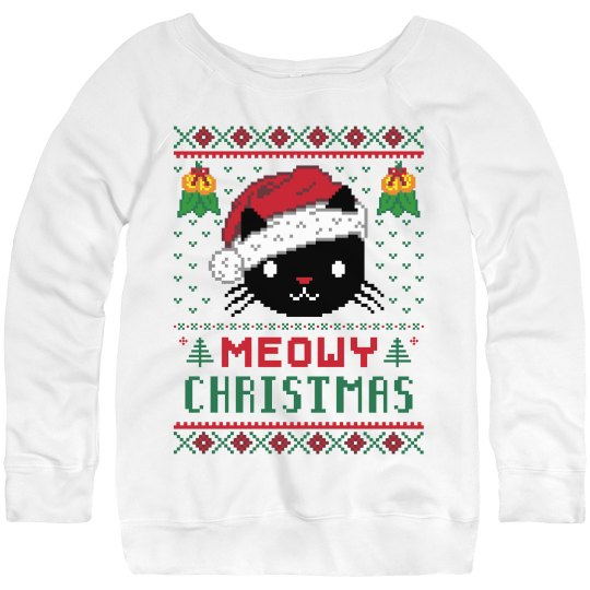 Meowy Ugly Sweater