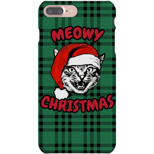 Meowy Xmas iPhone Case