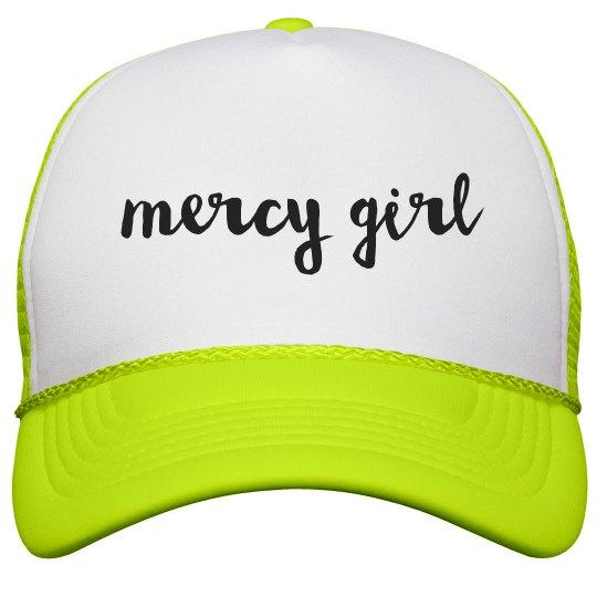 Mercy Girl Neon Trucker Snapback