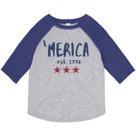 'Merica the Brave Vintage Toddler