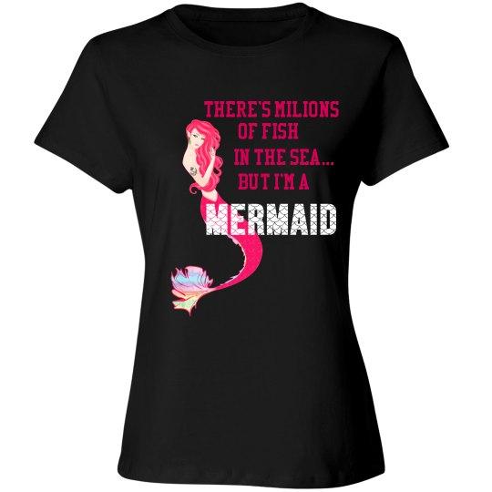 Mermaid - Million of fish in sea