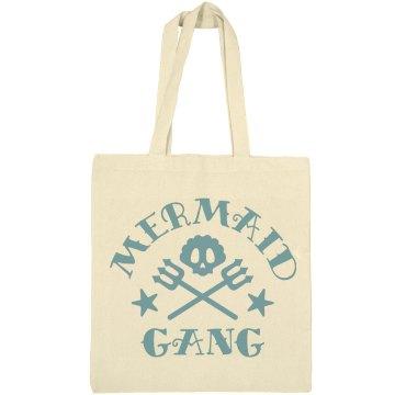 Mermaid Gang Canvas Tote Bag