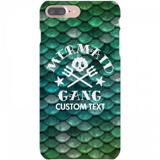 Mermaid Gang Custom iPhone Case