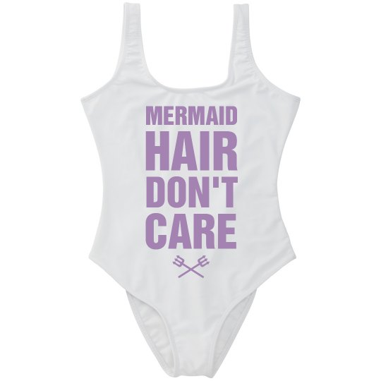 Mermaid Hair Spring Break Swimsuit
