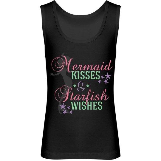 Mermaid Kisses Youth Tank