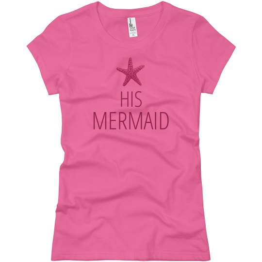Mermaid Matching Couple Shirts