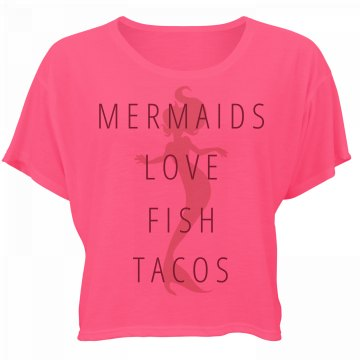 Mermaid Spring Break Neon Flowy