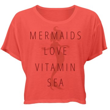 Mermaids Love Vitamin Sea Neon