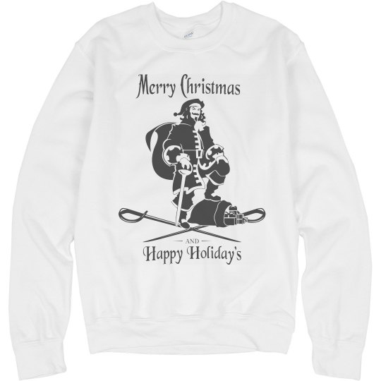 Merry Captain Christmas Sweater
