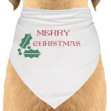 Merry Christmas Bandana