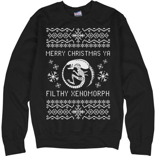Merry Christmas Ya Filthy Xenomorph