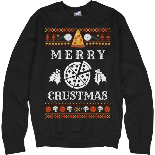 Merry Crustmas Ugly Sweater