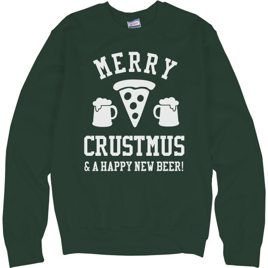 Merry Crustmus & Happy New Beer
