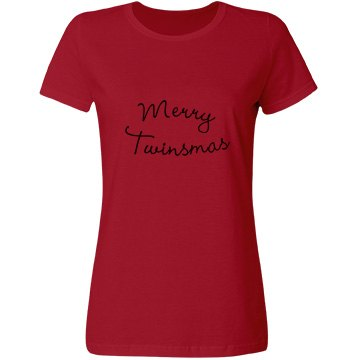 Merry Twinsmas Adults Shirt