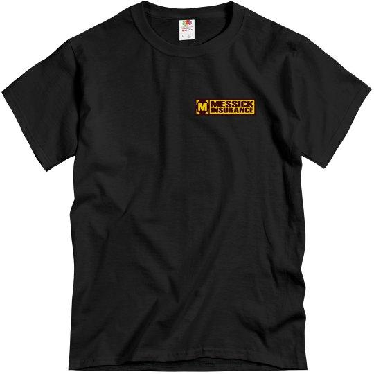 Messick Black/garnet/gold front only