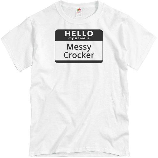 Messy Crocker Tee