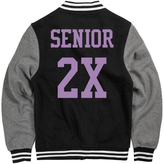 Metallic 2021 Senior Pride