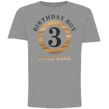 Metallic 3rd Birthday