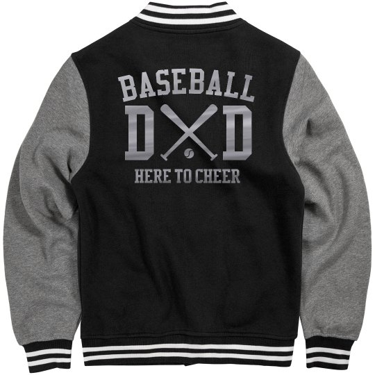 Metallic Baseball Dad Jersey