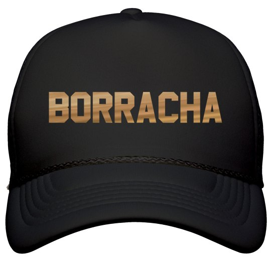 Metallic Borracha Cinco De Mayo Hat