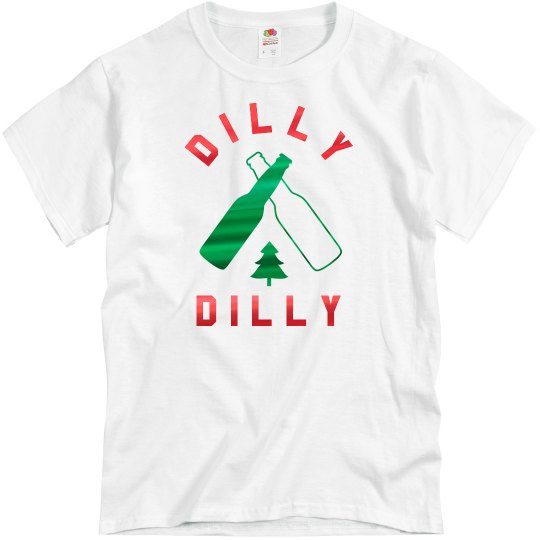 Metallic Christmas Dilly Dilly
