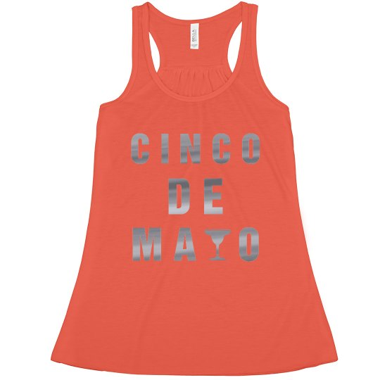 Metallic Cinco De Mayo Tank