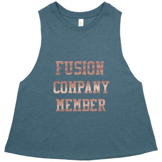Metallic Crop T-Shirt
