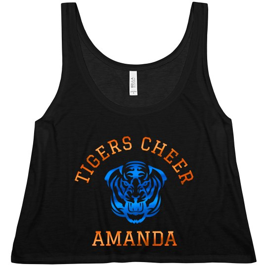Metallic Custom Cheerleader