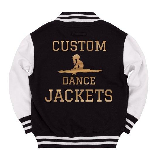 Metallic Custom Dance Jacket