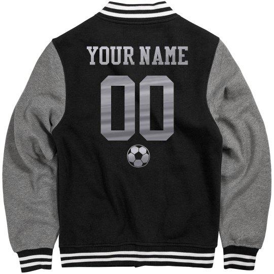 Metallic Custom Soccer Jacket