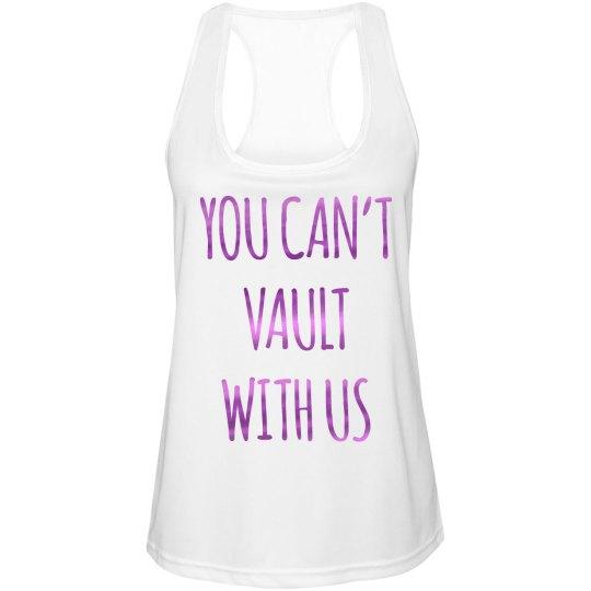 Metallic Gymnastics Vaulting Shirt