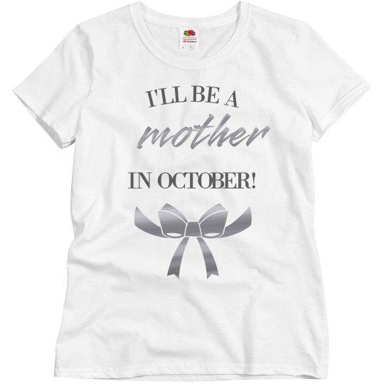 Metallic I'll Be A Mother Soon!