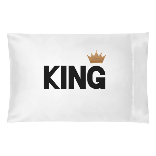 Metallic King Pillow Matching