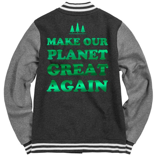Metallic Our Planet Great Again