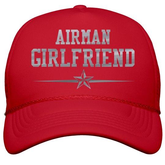 Metallic Print Airman Girlfriend